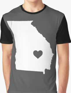 Georgia Heart Graphic T-Shirt