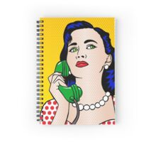 The Phone Call Spiral Notebook