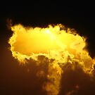 Burning a hole in the sky by Graeme M