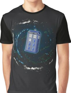Space and Time and the Universe Graphic T-Shirt
