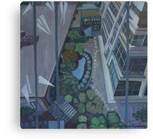 Hotel in San Francisco Canvas Print