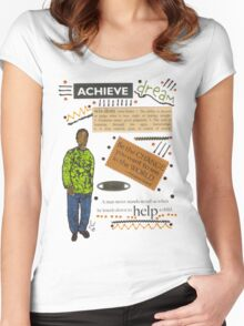 Achieve T-Shirt Women's Fitted Scoop T-Shirt