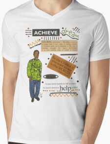 Achieve T-Shirt Mens V-Neck T-Shirt