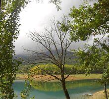 Plastiras Lake II by gstella