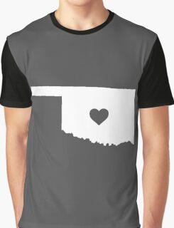 Oklahoma Heart Graphic T-Shirt