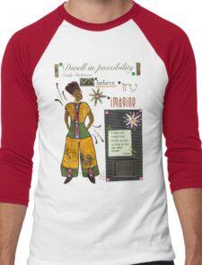 Dwell in Possibility T-Shirt Men's Baseball ¾ T-Shirt