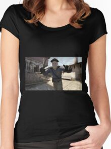 CSGO Terrorist Women's Fitted Scoop T-Shirt
