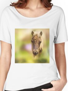 Beautiful young miniature horse Women's Relaxed Fit T-Shirt