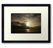 Dawn of the Pterodactyls Framed Print