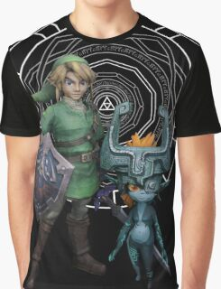 The Legend of Link and the Twilight Princess Graphic T-Shirt