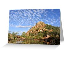 Bell's Gorge, WA Greeting Card