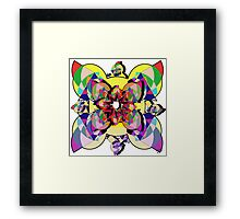 Precision Abstract Framed Print