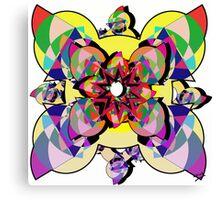 Precision Abstract Canvas Print