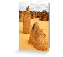 Nambung National Park, WA Greeting Card