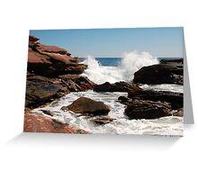 Coastal Cliffs, Kalbarri National Park, WA Greeting Card