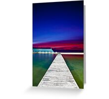 Colour Filled Sunrise Greeting Card