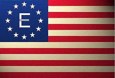 Fallout Enclave American Flag by HighDesign