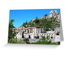 Sisteron, France Greeting Card
