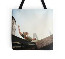 Addam Ringer, Yoga on a roftop in New York Tote Bag
