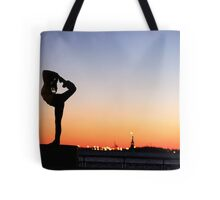 Minhee Cha in New York Tote Bag