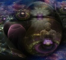The Dharmakaya by Craig Hitchens - Spiritual Digital Art