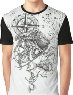 Octopus's garden Graphic T-Shirt