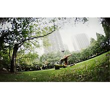 Minhee Cha, Yoga in New York Photographic Print