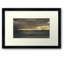 The First Wave Is Mine Framed Print