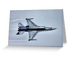 F16 Fighting Falcon Greeting Card