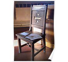 Prayer Chair Poster