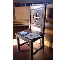 Prayer Chair Photographic Print