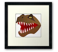 Jurassic T REX Framed Print