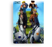 Adventures with Dave & Dave Canvas Print