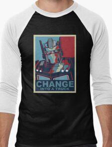 Change into A Truck Men's Baseball ¾ T-Shirt
