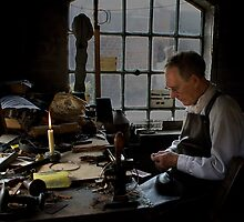 Victorian Leatherworker by Dave Tucker