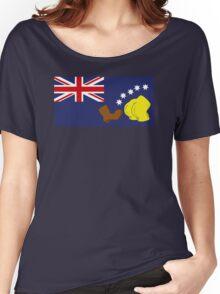 Australian Flag Women's Relaxed Fit T-Shirt