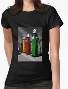 Fill me up...!! Womens Fitted T-Shirt