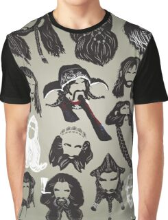 In the Company of Dwarves Graphic T-Shirt