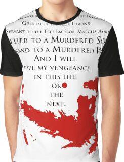 Gladiator - My name is Maximus Decimus Meridius... Graphic T-Shirt
