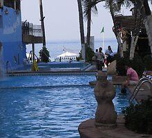 Pool Area Hotel Playa Los Arcos, Zona Romantica, Puerto Vallarta, Mexico by PtoVallartaMex