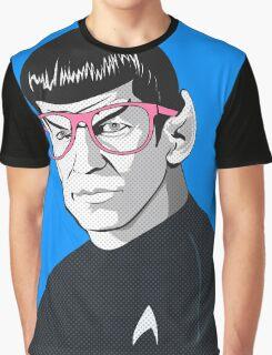 Pop Art Spock Star Trek  Graphic T-Shirt