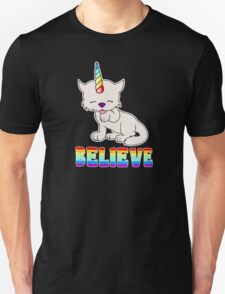 Magic Kittycorn Unicorn Cat T-Shirt