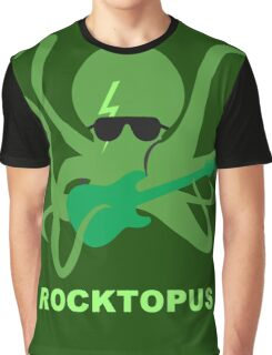 Rocktopus [GREEN] Graphic T-Shirt