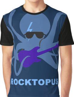Rocktopus [BLUE] Graphic T-Shirt