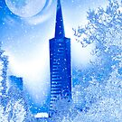 Winter in San Francisco (TransAmerica Pyramid) by Myillusions