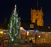 Village Christmas by Mike Streeter