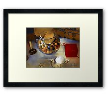 Tea and Toys Framed Print