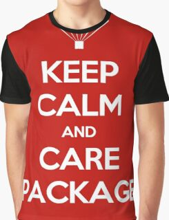 Keep Calm - Care Package Graphic T-Shirt