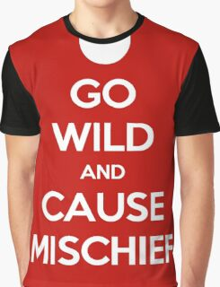 Keep Calm - Cause Mischief Graphic T-Shirt