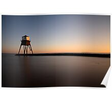 Sunset At The Beach, Dovercourt. Poster